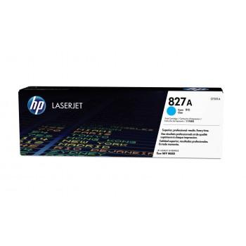 Заправка картриджа HP CF301A (827A) голубой cyan для HP CLJ Enterprise flow MFP M880z
