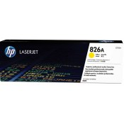 Заправка картриджа HP CF312A  (826A) желтый yellow для HP CLJ Enterprise M855