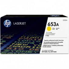 Заправка картриджа HP CF322A (653A) желтый yellow для HP CLJ Enterprise M680