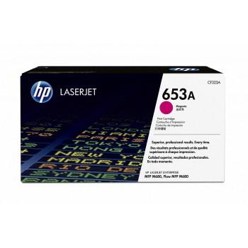 Заправка картриджа HP CF323A (653A) пурпурный magenta для HP CLJ Enterprise M680