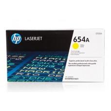 Заправка картриджа HP CF332A (654A) желтый yellow для HP CLJ Enterprise M651