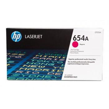 Заправка картриджа HP CF333A (654A) пурпурный magenta для HP CLJ Enterprise M651
