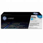 Заправка картриджа HP CB381A (824A) голубой cyan для HP CLJ CP6015/ CM6030/ CM6040