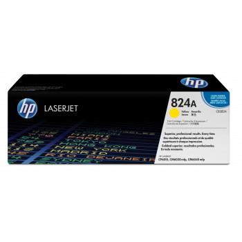 Заправка картриджа HP CB382A (824A) желтый yellow для HP CLJ CP6015/ CM6030/ CM6040