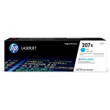 Заправка картриджа HP W2211X (207X) голубой cyan для HP LJ Pro M255dw/ M282/ M283