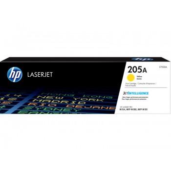 Заправка картриджа HP CF532A  (205A) желтый yellow для HP Color LaserJet Pro M180n / M181fw