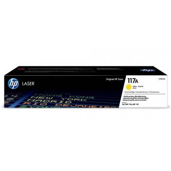 Заправка картриджа Hp 117A W2072A yellow для Hp CL 150a/nw, 178nw, 179fnw