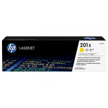 Заправка картриджа HP CLJ Pro CF402X (201X) желтый yellow для HP LJ Pro M252/MFP M277