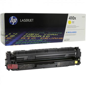 Заправка картриджа HP CLJ Pro CF412X (410X) желтый yellow для HP LJ Pro M452/M477/M377
