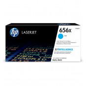 Заправка картриджа HP CF461X (656X) голубой cyan для HP CLJ Enterprise M652 /M653