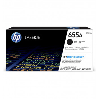 Заправка картриджа HP CF450A (655A)  black черный для HP CLJ Enterprise M652 /M653