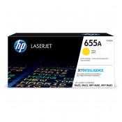 Заправка картриджа HP CF452A (655A) желтый yellow для HP CLJ Enterprise M652 /M653