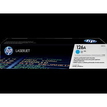 Заправка картриджа HP CE311A (126A) голубой cyan для HP CLJ CP1025  /M175 /M275
