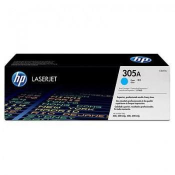Заправка картриджа HP CE411A (305A) голубой cyan для HP LJ Color M351/451