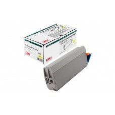 Заправка картриджа  OKI 41963083/41963005 10k желтый для C7100/C7300/C7350/C7500