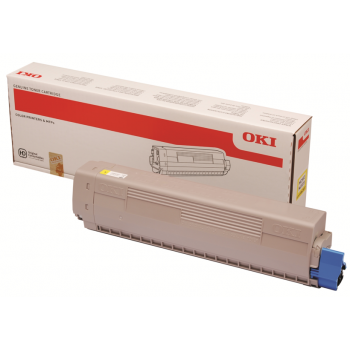 Заправка картриджа OKI 45862839 cyan (синий) для MC853, MC873