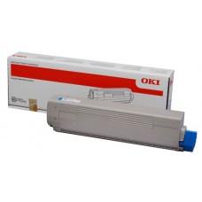 Заправка картриджа  OKI 44844615 7.3k голубой для C822