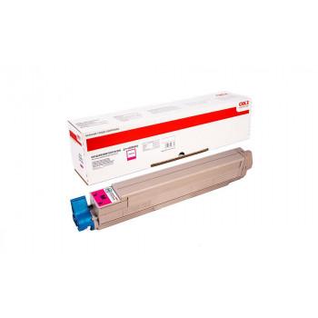 Заправка картриджа  OKI 44036022 15k пурпурный для C910/C920