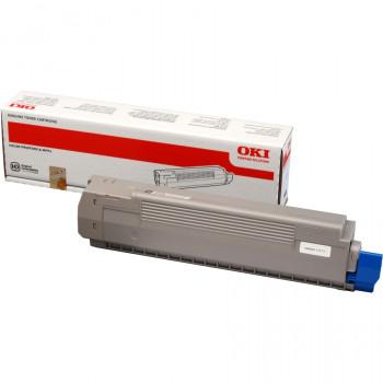 Заправка картриджа  OKI 44643004 7k черный для C801/C821