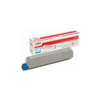 Заправка картриджа  OKI 44643003 7.3k голубой для C801/C821
