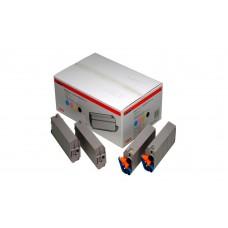 Заправка картриджа  OKI 41963677/41963607 15k голубой для C9300/C9500