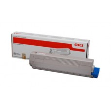 Заправка картриджа  OKI 44059119/44059107 8k голубой для C810/C830