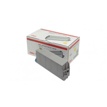 Заправка картриджа  OKI 44059117/44059105 8k желтый для C810/C830