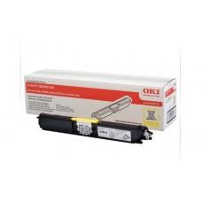 Заправка картриджа  OKI 44250729/44250721 2.5k желтый для C110/C130/MC160
