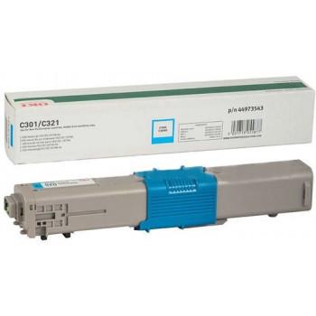Заправка картриджа  OKI 44469716 2k голубой для C310/C330/C331/MC351/MC352/MC361/MC362