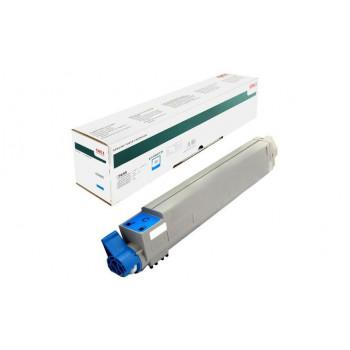 Заправка картриджа  OKI 43837135/43837131 22k голубой для C9655