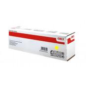 Заправка картриджа  OKI 46490405 / 46490629 желтый для OKI C532dn/ C542dn/ MC563dn/ MC573dn