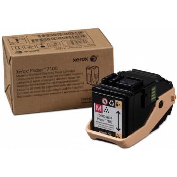 Заправка картриджа Xerox Phaser 7100 106R02607 пурпурный