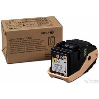 Заправка картриджа Xerox Phaser 7100 106R02608 желтый
