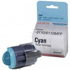 Заправка картриджа Xerox Phaser 6110 / 6110MFP 106R01206 голубой