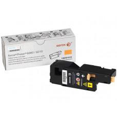 Заправка картриджа Xerox Phaser 6000 / 6010 WC 6015 106R01631 желтый