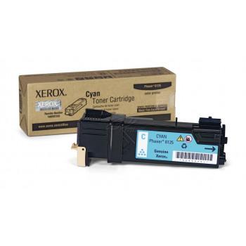 Заправка картриджа Xerox Phaser 6125 106R01335 голубой