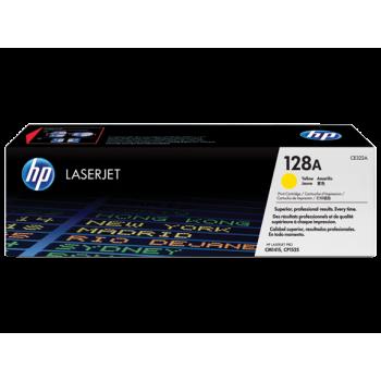 Заправка картриджа HP CE322A (128A) желтый yellow для HP CLJ CP1525/CM1415